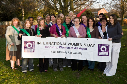 Members of the International Women's Day Working Group