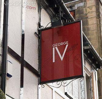 George IV sign. Pic: Nick Brickett