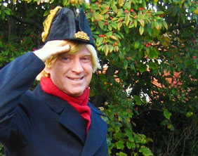 Michael Fabricant MP gets into character for HMS Pinafore