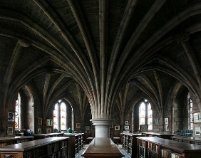 Lichfield Cathedral Library. Pic: Tom Allwood