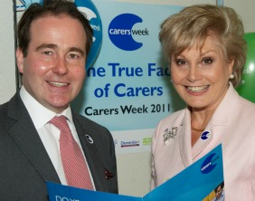 Christopher Pincher MP and Angela Rippon