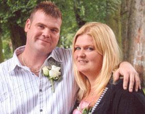 Tony Malpass and Joanne Beardsmore