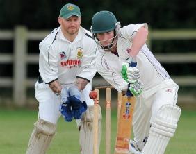 Stuart Fielding batting for Lichfield. Pic: Nigel Parker/format94