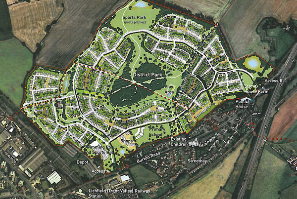 The planned Foden Park development. Pic: Miller Homes