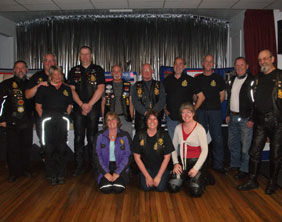 The Royal British Legion Riders Branch visiting Burntwood
