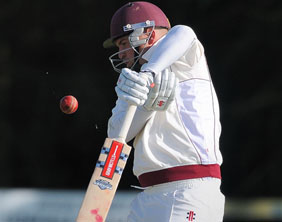 Adam Braddock at the crease for Lichfield CC. Pic: Nigel Parker/format94