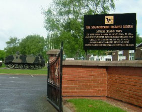 The Staffordshire Regiment Museum. Pic: Andy and Hilary