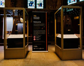 The Staffordshire Hoard exhibition at Lichfield Cathedral. Pic: Lichfield Camera Club
