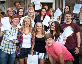 Lichfield Cathedral School students celebrate their GCSE results