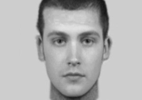 An e-fit of the Handsacre burglary suspect