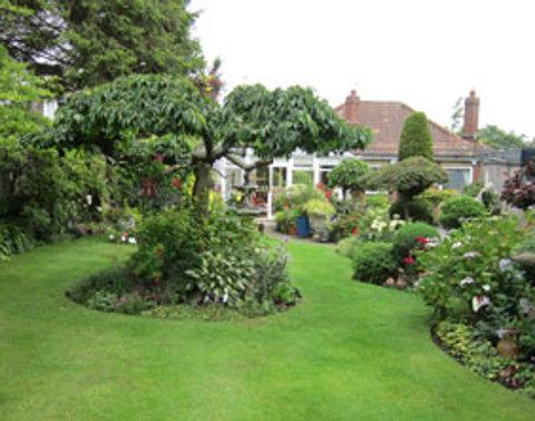 Judy and Brian Littler's Burntwood in Bloom-winning garden