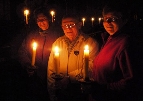 A candlelit tour of Lichfield Cathedral