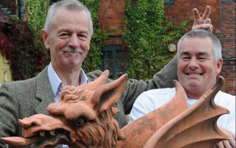 Professor Roland Rotherham and Simon Smith