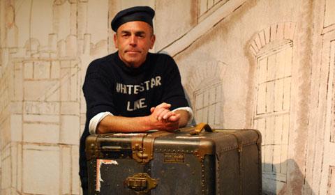Dave Brown as Titanic quartermaster Robert Hitchins