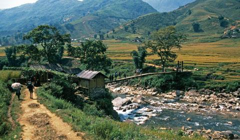 Hoa Binh province in Vietnam