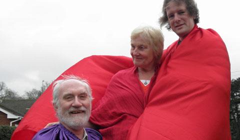 Ian Jackson, Polly Dixon and Phil Mantom