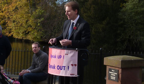 Matthew Ellis at Speakers' Corner