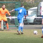 Action from Lichfield City FC v Castle Vale JKS
