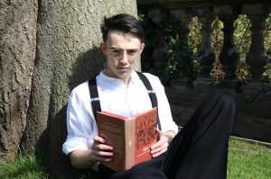 Shane Harper, who plays Jack Kipling in the Lichfield Players' forthcoming production of My Boy Jack