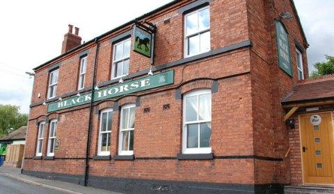 The Black Horse. Pic: Mick Malpass