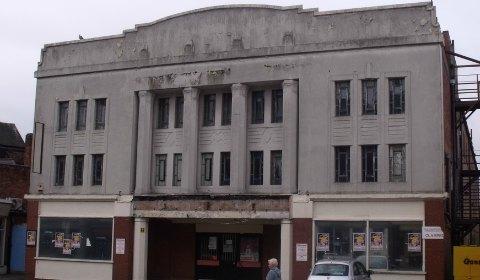 The Regal Cinema building in Lichfield. Pic: Elliott Brown