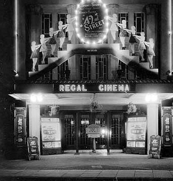 The Regal Cinema during its heyday