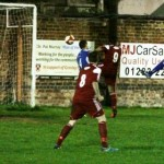 Rob Spencer heads home for Gresley. Pic: Dave Birt
