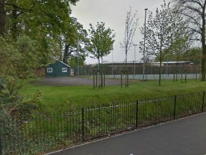 The former home of Lichfield Lawn Tennis Club