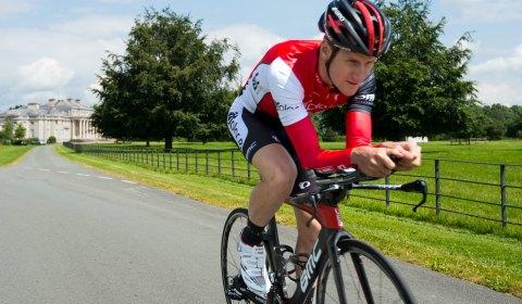 Ironman competitor Will Clarke