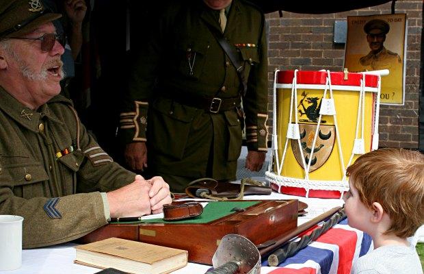 Kitchener recruitment re-enactors