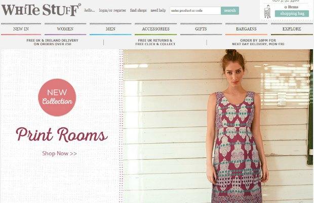 The White Stuff website