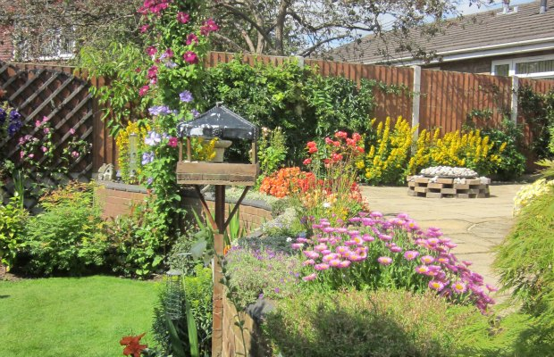 One of Pat and Trevor Tuffnell's winning gardens