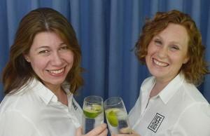 Alexandra Mackenzie and Joanne Forker