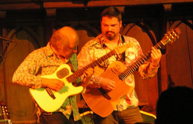 Pete Oxley and Nicholas Meier