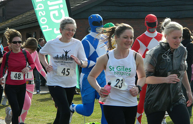 The St Giles Hospice Lichfield 5K run