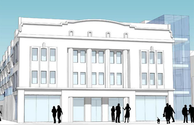 An artist's impression of how Lichfield's former cinema could look once converted