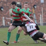 William Marsh is tackled. Pic: Joanne Gough