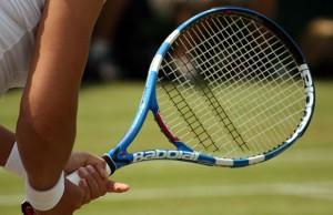 Tennis. Pic:  Michael Duxbury