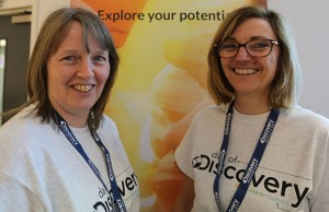 Wendy Horden and Jo Bishop from Scotch Orchard Primary School