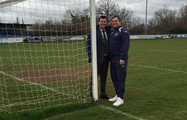 Darren Middleton and Gary Birch who will run the new Lichfield City FC Academy