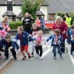 The World's Shortest Fun Run in Burntwood. Pic: Nancy Ennis
