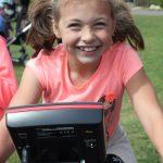 Evie-age-8-on-a-Wattbike