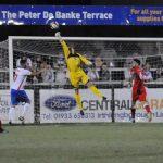 John Bateman tips the ball over. Pic: Pamela Mullins