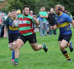Luke Rookyard on the run. Pic: Joanne Gough