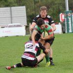 Ben Holt is tackled. Pic: Joanne Gough