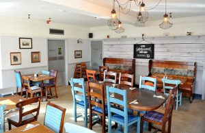 The new interior of the Malt Shovel Inn