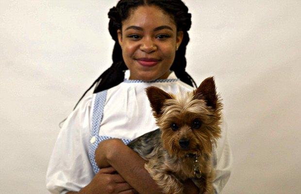 Rene Blissett as Dorothy in the Wizard of Oz