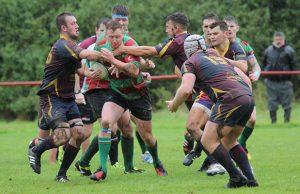 Tom O'Brien spots a gap. Pic: Joanne Gough