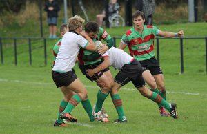 Matt Sishton is challenged. Pic: Joanne Gough