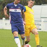 Josh Craddock on the ball. Pic: Dave Birt